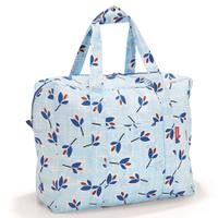 Сумка складная Mini maxi touringbag leaves blue, Reisenthel