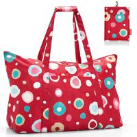 Сумка складная Mini maxi travelbag funky dots 2, Reisenthel