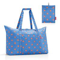 Сумка складная mini maxi travelbag azure dots, Reisenthel