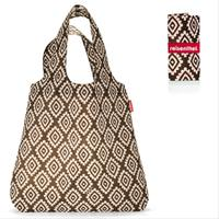 Сумка складная mini maxi shopper diamonds mocha, Reisenthel